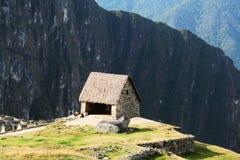 Incas city Machu-Picchu in the Peru Royalty Free Stock Image