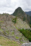 Incas city of Machu Pichu in Cusco, Peru Stock Photo