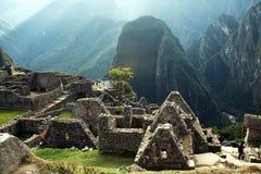 Incas houses Stock Photography