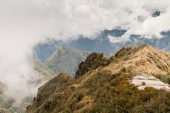 Incas miasto Mach Pichu w Cusco, Peru Fotografia Royalty Free