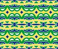 Incas Naadloos Patroon stock illustratie