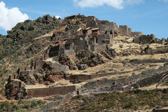 Incas pisac Royalty Free Stock Photography