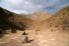 Incas ruins in Chivas Royalty Free Stock Photos