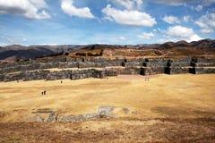 Incas saqsaywaman Stock Image