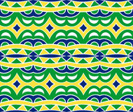 Incas Seamless Pattern Stock Photography