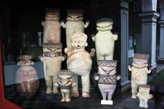 Incas statues royalty free stock photos