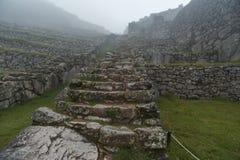 Incas stone pathway royalty free stock image