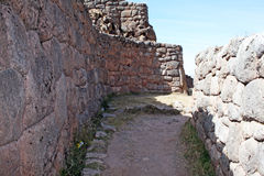 Incas street Royalty Free Stock Images