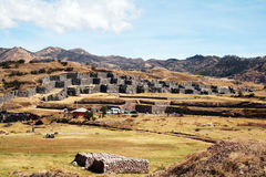 Incas walls Stock Image