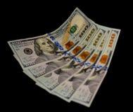 Incassi i soldi Fotografia Stock