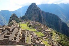 Incastaden av Machu Picchu Royaltyfri Bild