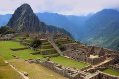 Incastaden av Machu Picchu Arkivbild