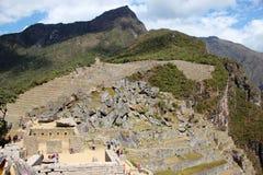 Incastaden av Machu Picchu Arkivfoto