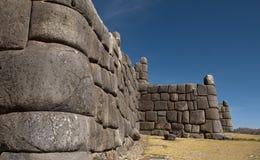 Incavesting van Sacsayhuaman Stock Fotografie