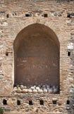 Incavo della parete di Alhambra immagine stock