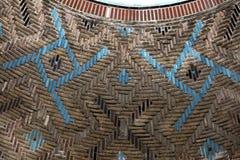 Ince Minareli Medrese, detail stock foto's