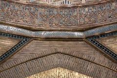Ince Minareli Medrese, detail (Madrasah met dun royalty-vrije stock fotografie