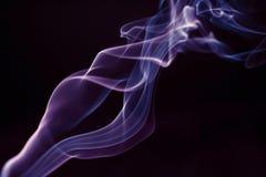Incence rök som en fackla Royaltyfria Bilder