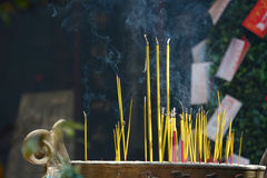 Incence Sticks Royalty Free Stock Image