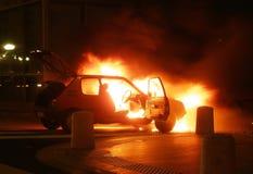 Incendiaire, photo stock