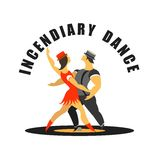 Incendiary dance Stock Photo