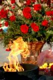 Incendie éternel Image libre de droits