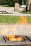 Incendie éternel Photo libre de droits