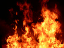 Incendie 01 Images libres de droits