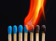 Incendie - 02 Image stock