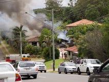 Incendie 1 de stationnement de Shailer Images libres de droits