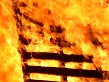 Incendie. Photo libre de droits