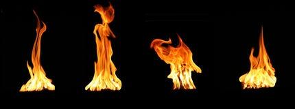Incendie photos stock