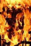 Incendie 2 photos libres de droits