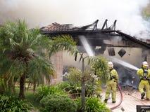 Incendie 3 de stationnement de Shailer Photos libres de droits