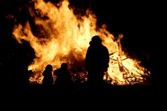 Incendie ! Images libres de droits