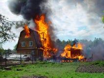 Incendie. Photos libres de droits