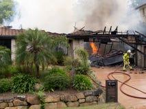 Incendie 5 de stationnement de Shailer Photographie stock libre de droits