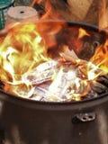 Incendie Photo stock