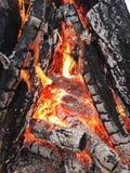 Incendie Photo libre de droits