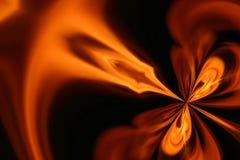 Incendie abstrait photo libre de droits
