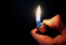 Incendie artificiel Images libres de droits