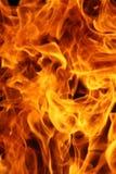 Incendie brûlant Images libres de droits