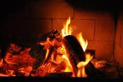 Incendie chaud Image stock