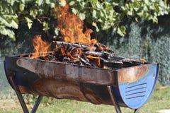 Incendie contrôlé Photos libres de droits