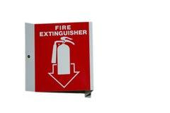 incendie d'extincteur Photo stock