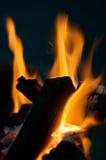 Incendie de barbecue image libre de droits