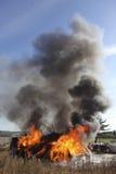 Incendie de Chambre Photo stock