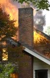 Incendie de Chambre Photographie stock libre de droits