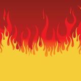 incendie de fond Photographie stock libre de droits