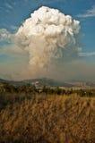 Incendie de forêt ! Images libres de droits